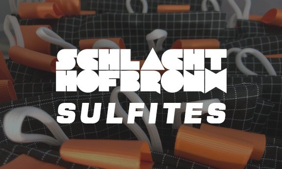 Sulfites X Schlachthofbronx sacoche